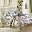 Forest Owl 4 or 5 Piece Comforter Bed In A Bag Set
