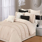 Romantica Taupe 5 Piece Comforter Bed In A Bag Set