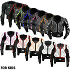 Kids / Child Motorcycle Spine Protector Guard Jacket Motorbike Body Armour