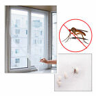 Mesh Window Magic Curtain Snap Fly Bug Insect Mosquito Screen Net White, usado segunda mano  Embacar hacia Argentina
