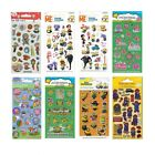 Small FOIL STICKERS - Huge Range Of Characters (School/Craft/Reward) 017006