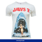 Men's Vintage Aged Jaws 2 Movie Inspired Poster Fitted or Classic T-shirt
