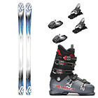 K2 AMP RX, Marker 10.0 EPS, and Nordica NXT N6 Ski Package