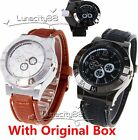 Men's Military Army Windproof USB Cigarette Lighter Watches Novelty Wristwatches