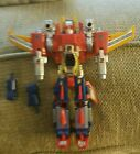 Vintage 1980s Diaclone King Dam Robot Transformers 3 In 1 Figure With Pilots