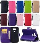 For LG G5 H830 H840 H850 Strap Rose Love 3D Emboss PU Leather Flip Cover Case