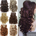 Dense Hair Extensions 100% Real natural Clip in Hair Extension 18 Clip ins SZ9