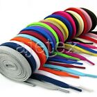 1pair New Flat Shoelaces Athletic Sneaker Shoe Laces Bootlaces 120cm/47in