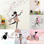 Butterfly Flower Removable Vinyl Wall Sticker Decal Mural Art Wall Home Decor