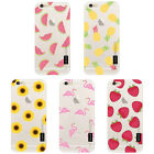 Fruit Pattern Marble Gel TPU Silicone Case Cover for Apple iPhone 5 5S SE 6 6S 7
