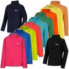Regatta Hotshot II Kids Microfleece Half-Zip Childrens Jumper Girls Boys Fleece