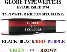 1 x OLYMPIA TYPEWRITER RIBBON FOR MOST OLD MACHINES HIGH QUALITY 5 COLOURS