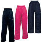 Regatta Chandler Kids Waterproof Lined Overtrousers Girls Boys Pants