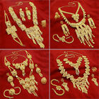 Beautiful Gold Plated Traditional Indian Necklace Set Bollywood Wedding Jewelry
