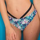 Pour Moi Cosmic Bikini Brief With Strap Black/ Multi -(55004)