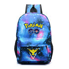 Pokemon Go Canvas Backpack Shoulder Bag Outdoor Sport School Travel Bag Rucksack