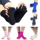 Hot Yoga GYM Massage Open Five Toe Separator Sock Foot Alignment Pain Relief