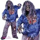 Boys Complete Zombie The Living Dead Deluxe Kids Halloween Fancy Dress Costume