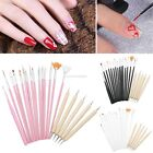 AU 20pcs Nail Art Design DIY Dotting Painting Drawing Polish Brush Pen EN24H