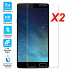 2x 9H Premium Thin Tempered Glass Screen Protector Film For OnePlus 1 2 3 3T 5 6