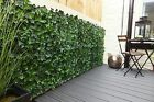 Ivy artificial hedge Tiles. Garden Screening 50cm x 50cm