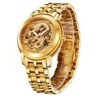 Men's Luxury Gold Chinese Dragon Automatic Mechanical Watch Stainless Steel M8T7