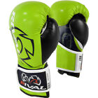 Внешний вид - Rival Boxing RB7 Fitness+ Hook and Loop Bag Gloves - Lime/Black