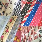 Fabric Remnants Polycotton BUNTING Pieces Offcuts  Various Sizes & Patterns