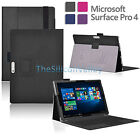 Slim PU Leather Folio Stand Case Cover Card Holder for Microsoft Surface Pro 4