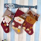 Holiday Christmas Xmas Gift Kids Candy Bag Sock Stocking Home Hanging Decoration