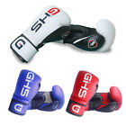 GHS GEL Rex Leather Boxing Gloves Fight Bag MMA Muay thai Grappling Pad