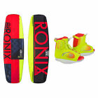 Ronix Quarter Til Midnight Womens Wakeboard With Luxe Bindings 2016