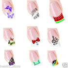1PC DIY Nail Art Decoration Acrylic Water Transfer Manicure Tips Decal Sticker