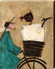 Sam Toft Taking The Girls Home Canvas Print 40x50x3.8cm