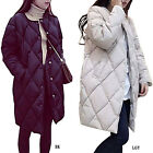 New Women's Winter Long Style Coat Jacket Down Cotton Thicken Bread Style Coat