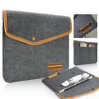 Fashionable Felt Carry Bag with Accessory Pouch for Macbook Air/Pro Retina 13""