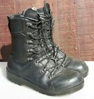 Genuine Army Surplus German Forces Para Boot Parachute Boots Black Leather MK6