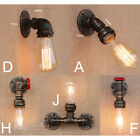 Vintage Industrial Loft Rustic Wall Sconce Wall Lights Fixtures Fitting 7919HC
