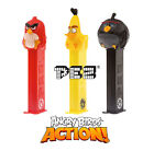 PEZ Heads Dispenser ANGRY BIRDS Action! (New+2 Refills)(Movie/Sweets/Candy/Gift)