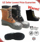 LM Mens Winter Snow Boots Shoes Work Boots Insulated Waterproof Thermolite 2004