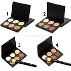 New 6 Colors contour & Concealer Face cream Makeup Palette with Brush Cosmetic