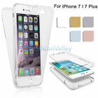 360° Clear Full Body TPU Soft Protective Case Cover For iPhone 7 / 7 Plus New