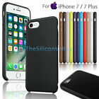 Luxury Slim PU Leather Ultra-Thin Back Cover Case For Apple iPhone 7/ 7 Plus New