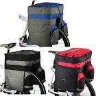 ROSWHEEL 60L Bicycle Bag Double Side Rear Rack Tail Seat Trunk Bag Pannier W1A4