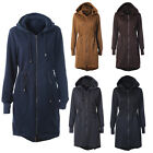 Women Winter Warm Hooded Coat Parka Long Jacket Sweatshirts Overcoat Outwear