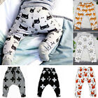Cute Kid Baby Boys Girls Harem Pants Trousers Toddler Cartoon Bottoms Sweatpants