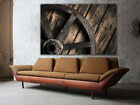 """Wagon wheel canvas print, HUGE up to 60""""x40"""", wall decoration, country style"""