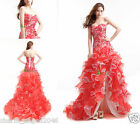 Sweetheart High-Low Prom Dress Formal Pageant Dress Ball Party Evening Gowns
