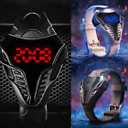Fashion LED Electronic Watches Creative New Watches Cobra Snakehead Watches