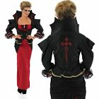 Deluxe Vampiress Vampire Halloween Ladies Plus Size Fancy Dress Costume